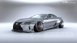 Liberty Walk Lexus LC 500