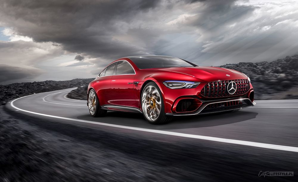 Mercedes-Benz AMG GT Four