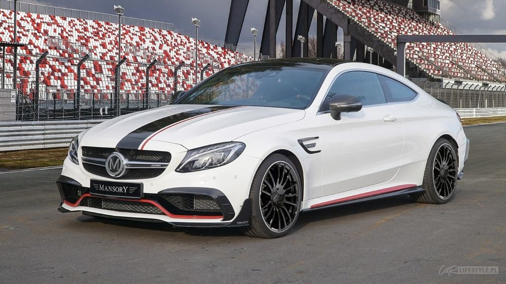 Mercedes AMG C63S by Mansory