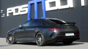 Mercedes AMG GT 4Door Coupe by Posaidon